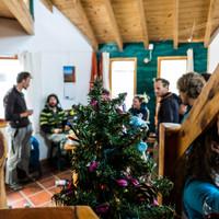 <span><strong>Gemütliches Weihnachten unter Bergsteigern - Weihnachtenerfrischend anders</strong></span><span class=>© Timo Moser</span>