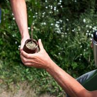 <strong>Mate-Tee trinken ist teil dieser Kultur hier und eine angenehme Entschleunigung</strong>