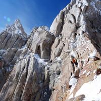 <strong>Timo in einer wunderbaren Länge in der Supercanaleta kurz vor dem Ausstieg</strong>© Roli Striemitzer