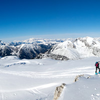 Weitblick bei der geführten Skitour am Obertauern