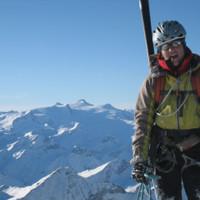 <span><strong>Eva am Gipfel des Eiskögele.</strong><span class=>© Wolfgang Wiesner</span></span>