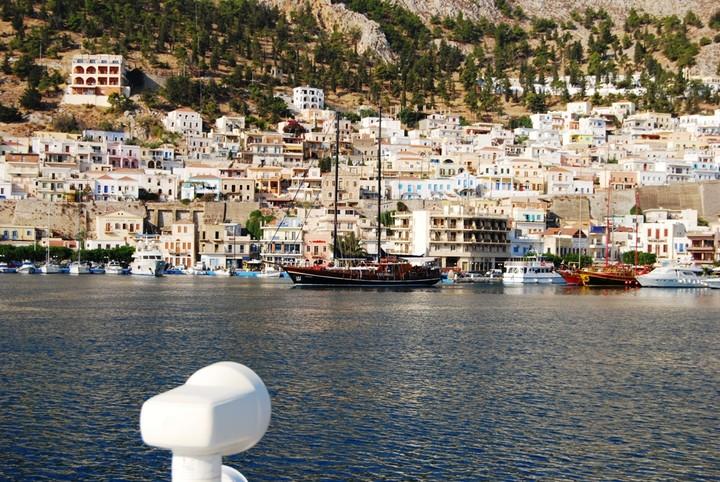 <strong>Wunderschöner Hafen in Pothia auf Kalymnos</strong><span class=>© Freiluftleben</span>