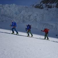<strong>Immer wieder Gletscher... und Sonne</strong><span class=>© Felix Autor</span>