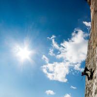 <strong>Klettern am El Capitan im Yosemite (Amerika)</strong><span class=>© Timo Moser</span>
