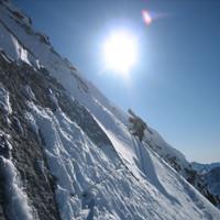 <span><strong>Der Schnee klebte dann doch ausreichend am Untergrund.</strong><span class=>© Wolfgang Wiesner</span></p> <p></span>