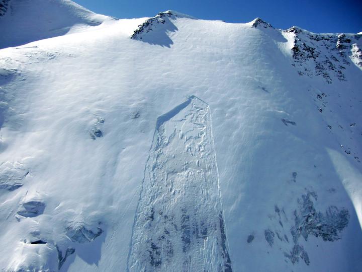 <strong>Tödlicher Lawinenabgang an der Taschach-Nordwand</strong><span class=>© Freiluftleben</span>