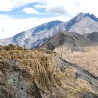 <strong>Das Moonland auf der Strecke von Leh nach Kargil, kurz vor Lamayuru</strong><span class=>© Timo Moser</span>