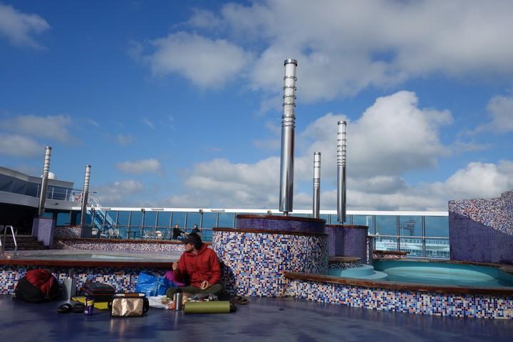 <strong>Auf Deck der Fähre von Ancona nach Patras</strong><span class=>© Felix Autor</span>