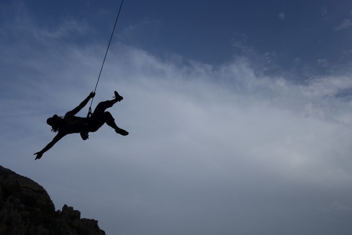 <strong>Swing over the rocks! Jippieh, what a time!</strong><span class=>© Felix Autor</span>