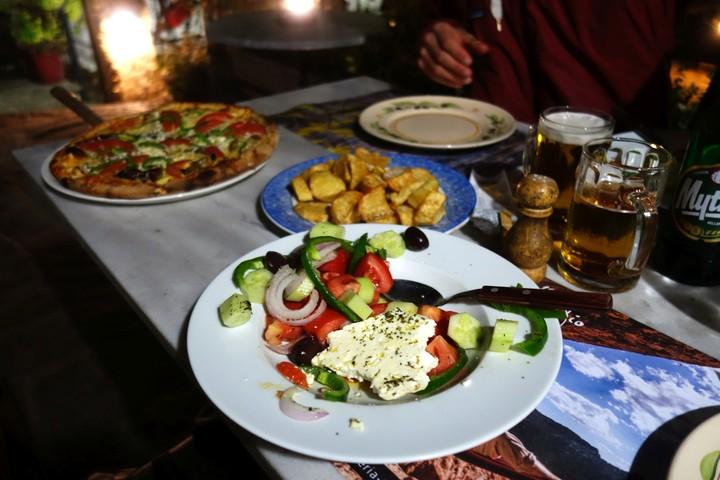 <strong>Ein Klassiker: Griechischer Salat</strong><span class=>© Felix Autor</span>