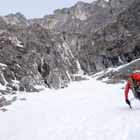 <strong>100 m Schneestapfen zum Einstieg der