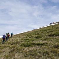 <strong>Am zweiten Tag wandern wir von der Glettenalm im Großarltal zur Tappenkarseehütte im Kleinarltal.</strong>© Stefanie Lettner