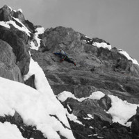 <span><strong>Hier wurds nochmal richtig steil, kurzer Henkelüberhang</strong><span class=>© Berni Egger</span></span>