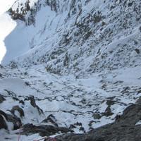 <span><strong>Gipfellänge Blick zurück</strong><span class=>© Timo Moser</span></span>