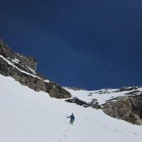 <span><strong>Abstieg von der Dreiherrenspitze in Richtung Birnlückenhütte</strong><span class=>© Timo Moser</span></span>