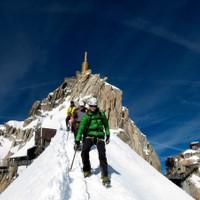 <span>Abstieg Aiguille du Midi</span>