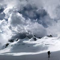 <span><span>Ein Wolkengebirge über dem Gebirge.</span><br /></span>