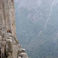 <span><strong>Kletterer Biwakieren auf der Mammut-Terrasse</strong>©Timo Moser</span>