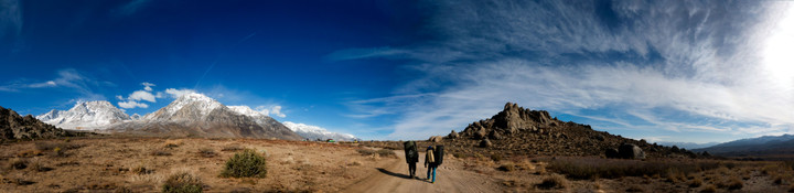 <span><strong>Bouldergebiet - Buttermilks</strong>© Timo Moser</span>