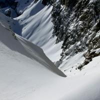 <span>Blick von der Eisbodenscharte zur Hochalm, Ski wo seit ihr?</span>