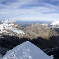Grögerschneid mit Wiesberghorn und Fuscherkarkopf im Hintergrund