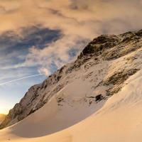 Großglockner Nordwand im Morgenlicht