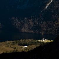 St. Bartholomä schaut fast Frühlingshaft aus
