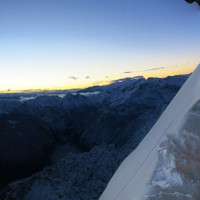 Sonnenaufgang bei der Watzmann-Biwakschachtel