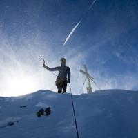 Timo hat die Watzmann Südspitze erreicht - Jujuh