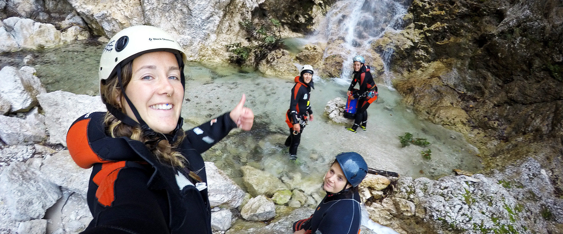 Canyoning in Friaul