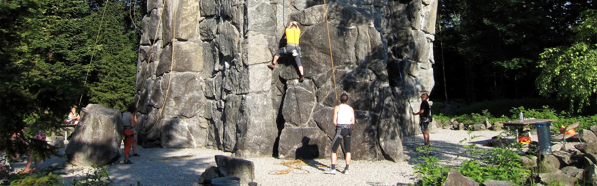 Schnupperklettern Rif Sportzentrum