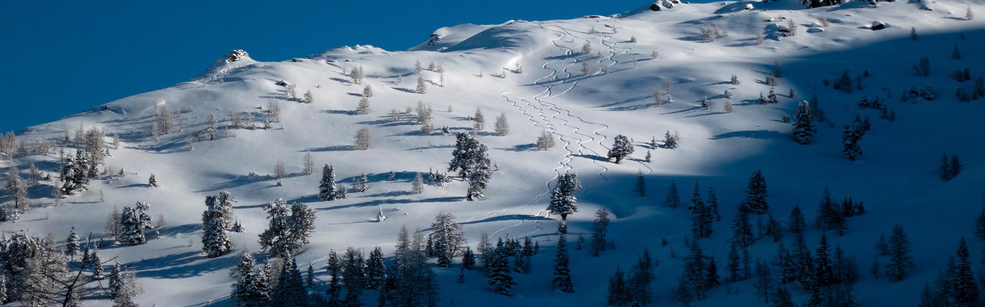 Winterlandschaft am Obertauern