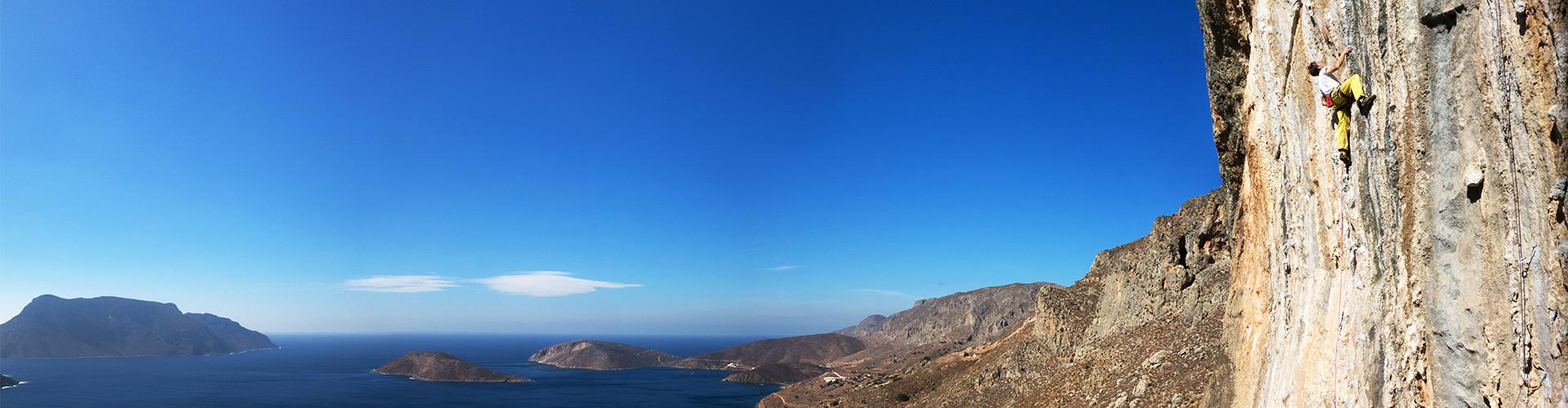 Klettern auf Kalymnos