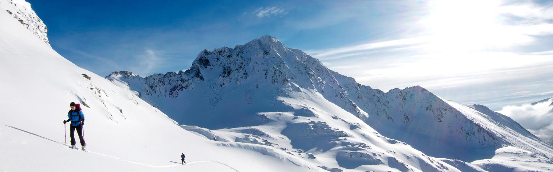 Praxisskitour mit Schnee- und Lawinenkunde