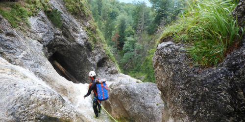 Canyoning Seenpanorama Mondsee