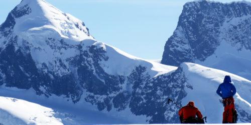 Skitourengeher - Haute Route