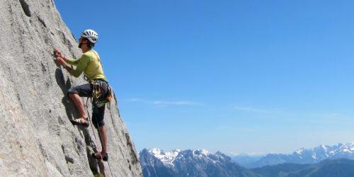 Alpinkletterei am Hochkönig