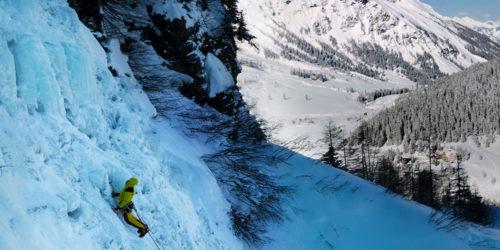 Eisklettern in Salzburg