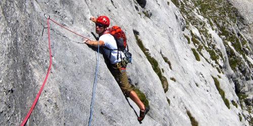 Alpinklettern im Tennengebirge