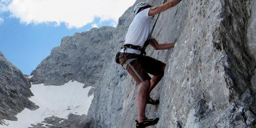 Alpinkletterei Watzmann-Hochkalter-Reiter Alpe