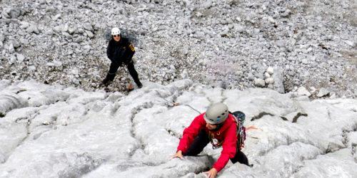Alpinkletterei Göll-Brett