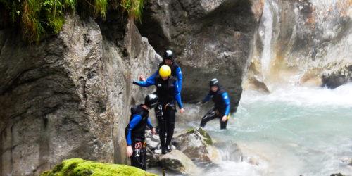Canyoning Seisenbergklamm