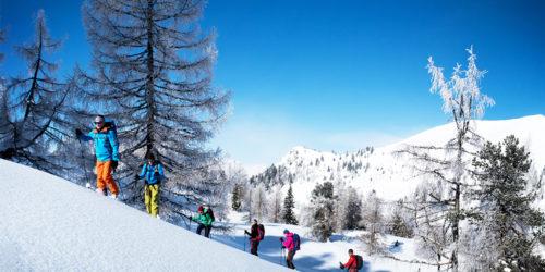 Skitourenkurs mit Pistenabfahrt