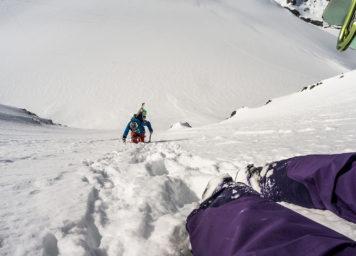 Thumbnail http://Aufstieg%20Wildspitze-Nordwand%20mit%20Ski