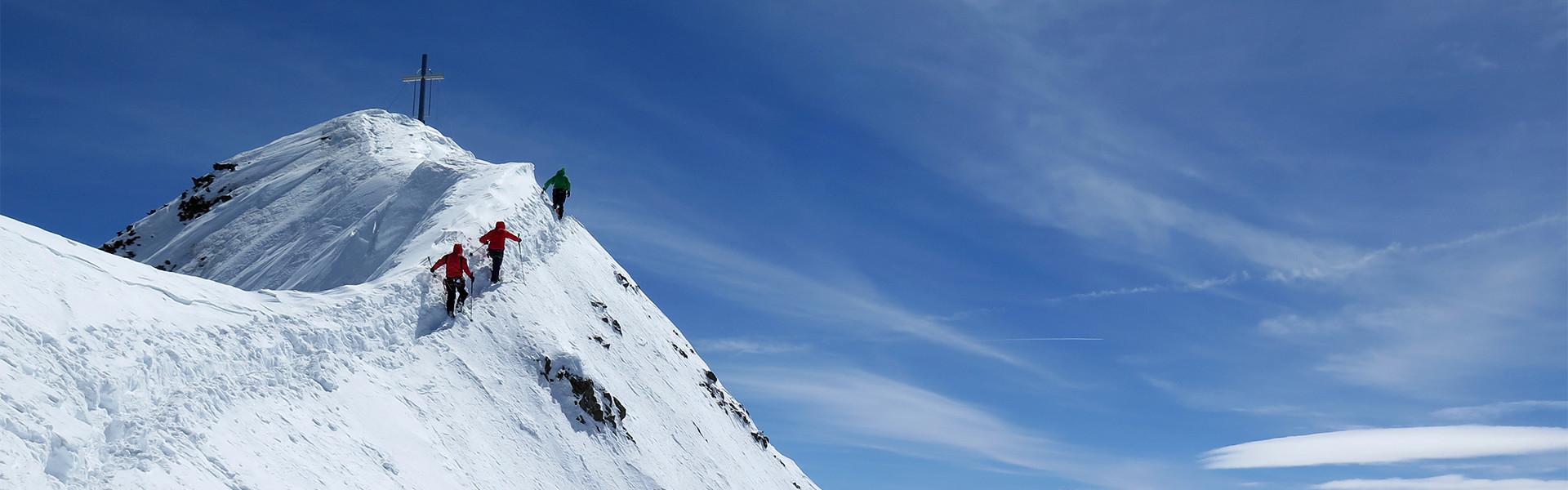 Gipfel Wildspitze