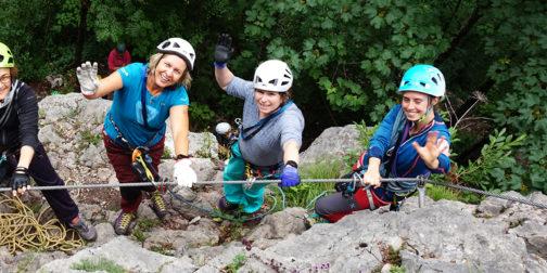 erlebnis klettersteig erlebnispädagogik